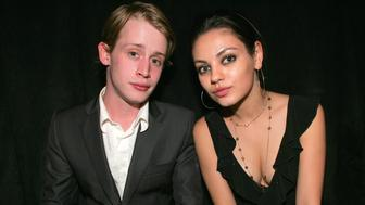 (EXCLUSIVE, Premium Rates Apply) Macaulay Culkin and Mila Kunis *EXCLUSIVE* (Photo by Chris Polk/FilmMagic)