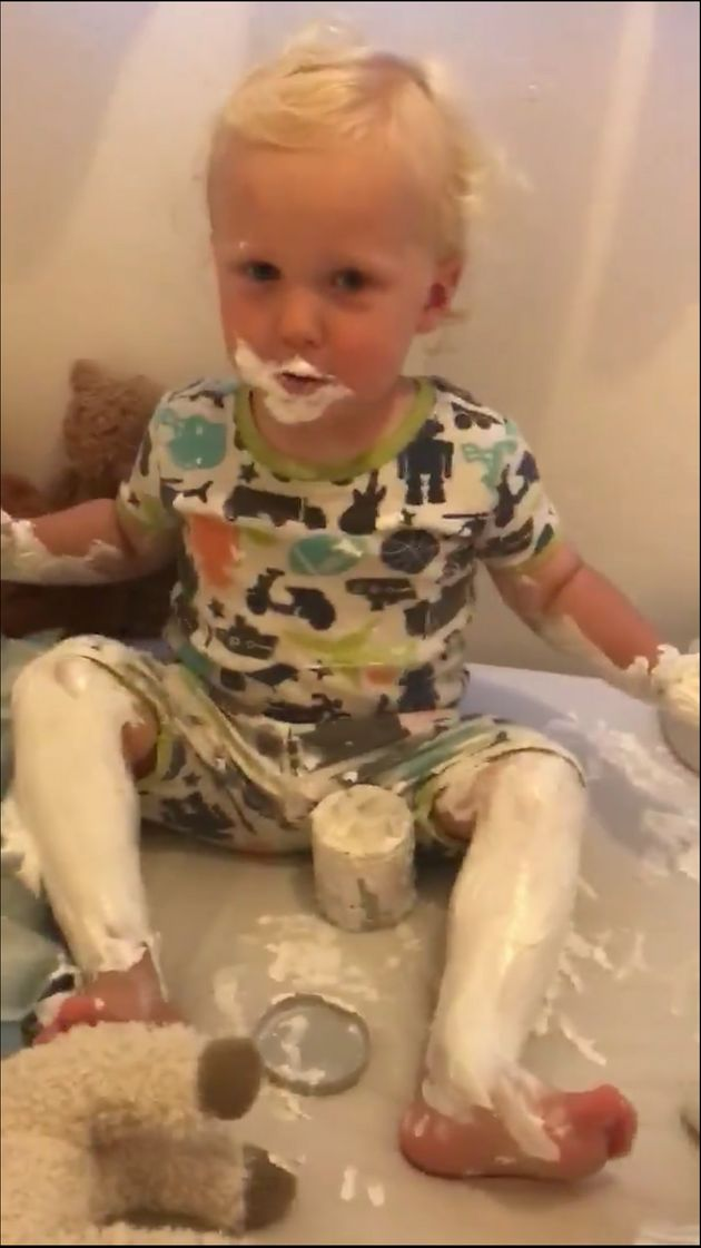 Toddlers +lotion