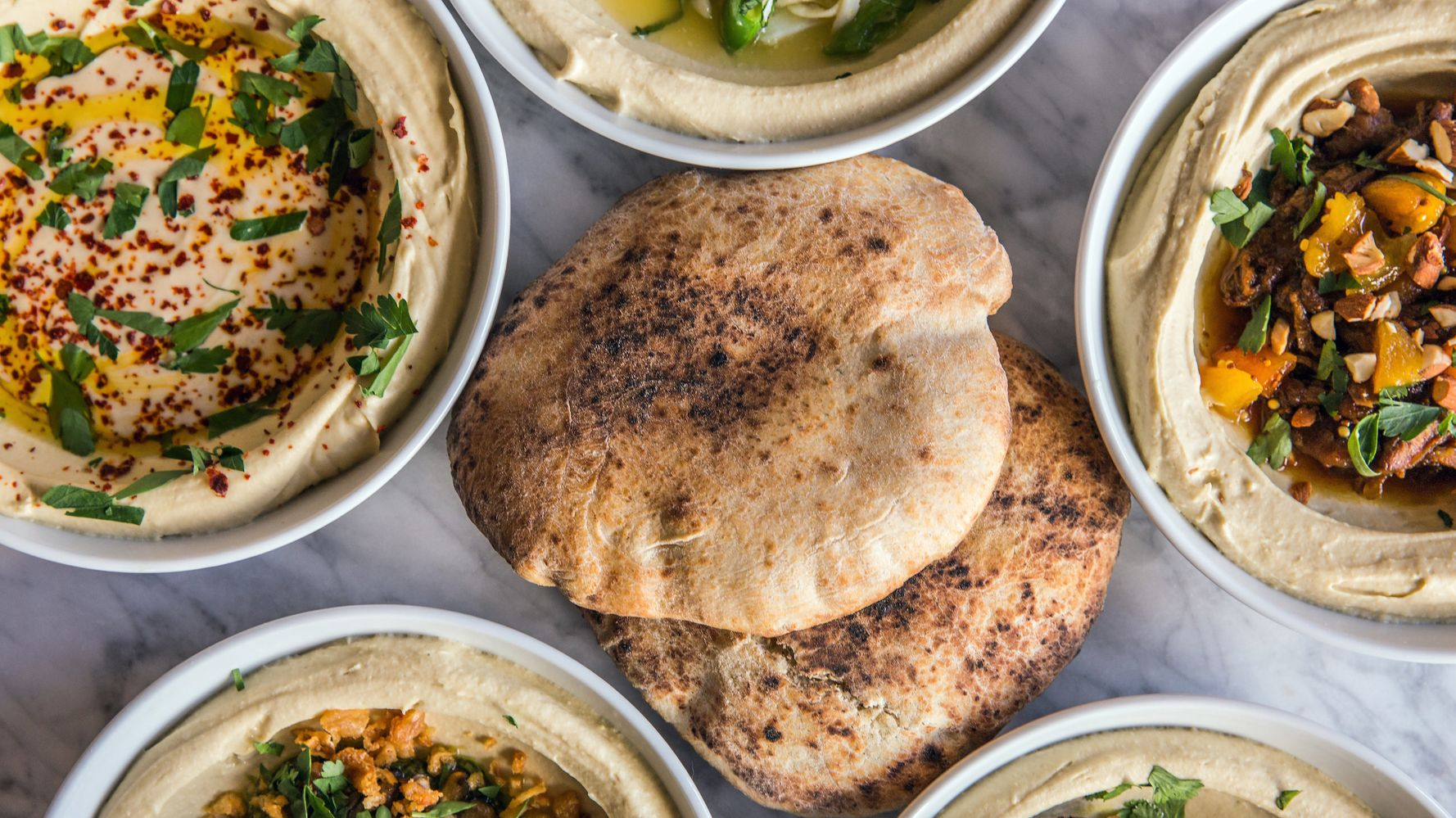 what to eat with hummus when on diet