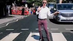 Paul McCartney Returns To Abbey Road