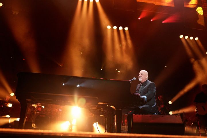 Billy Joel at his 100th performance at Madison Square Garden in New York City, July 18. He told Vulture that he has the