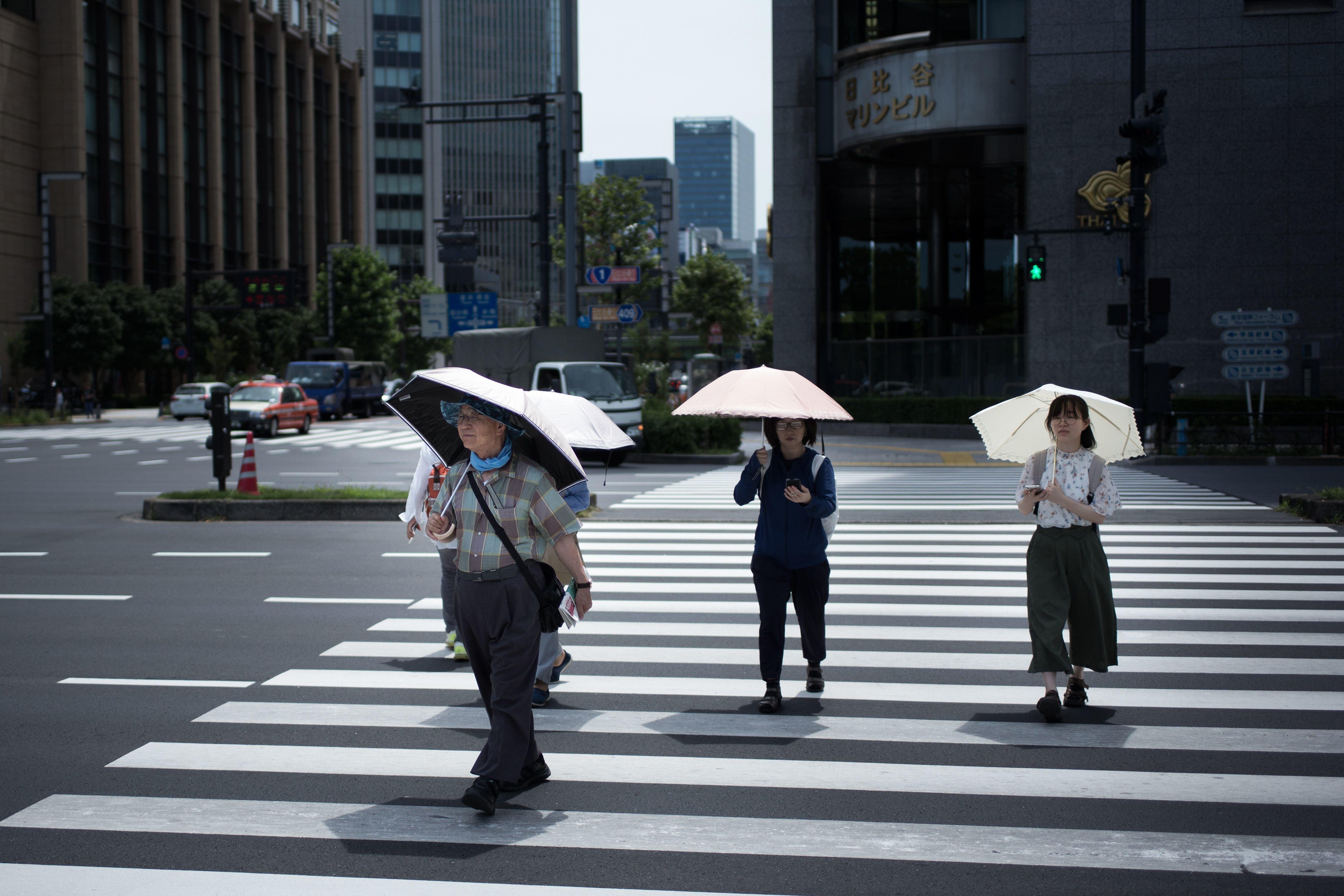 Τουλάχιστον 80 οι νεκροί από το κύμα ζέστης στην Ιαπωνία, 35.000 άνθρωποι στα