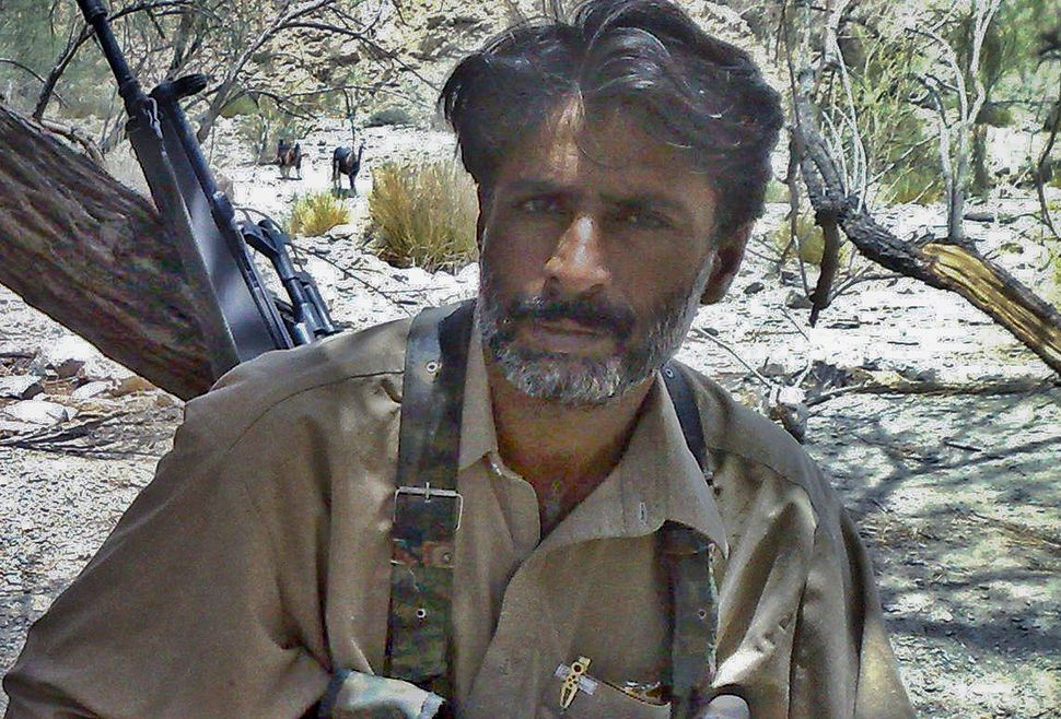Balochistan insurgency leader Allah Nazar Baloch, shown here in an undated photograph, is a far cry from the tribal chiefs wh