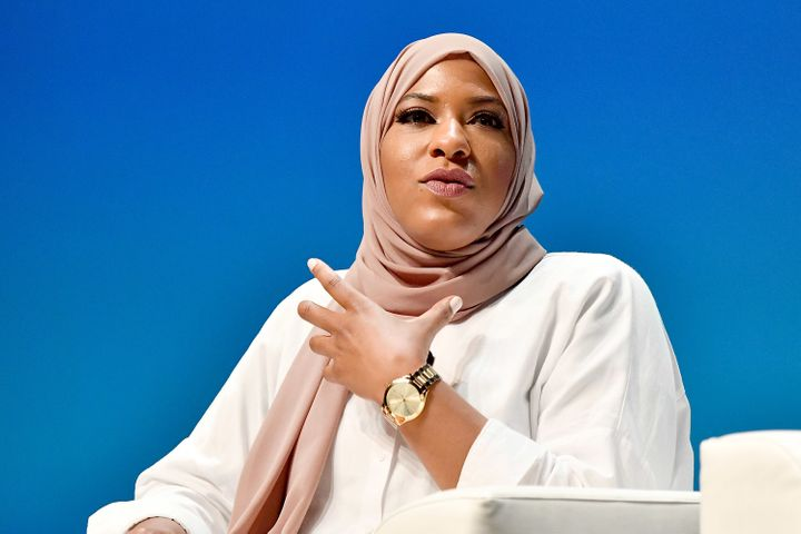 Olympic Medalist Ibtihaj Muhammad has published <i>Proud: My Fight for an Unlikely American Dream,</i> a new memoir abo