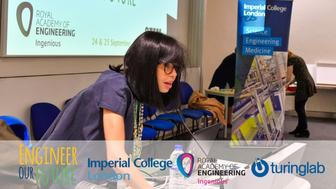 #EoFImperial 'Engineer Our Future: Girls' Hackaton' hosted by Imperial College London and the Turing Lab