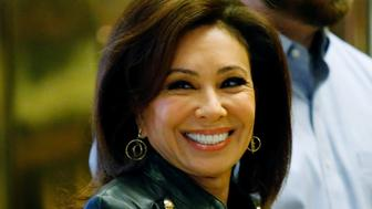 Jeanine Pirro, arrives at the Trump Tower for meetings with US President-elect Donald Trump, in New York on November 17, 2016. / AFP / Eduardo Munoz Alvarez        (Photo credit should read EDUARDO MUNOZ ALVAREZ/AFP/Getty Images)