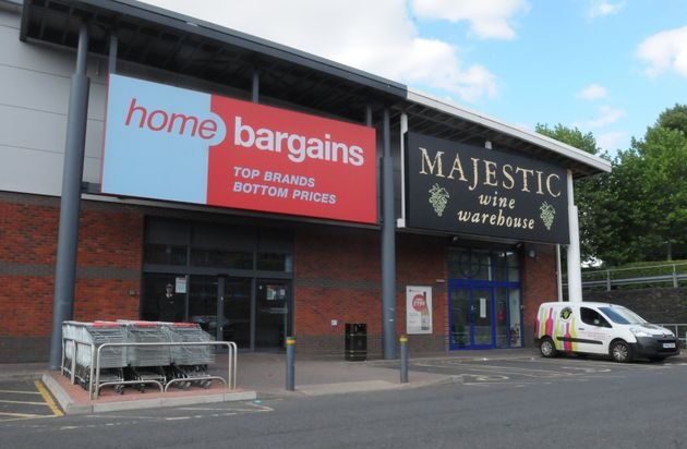 The Home Bargains store on the Shrub Hill Retail Park in Tallow Hill, Worcester where a three year boy was...