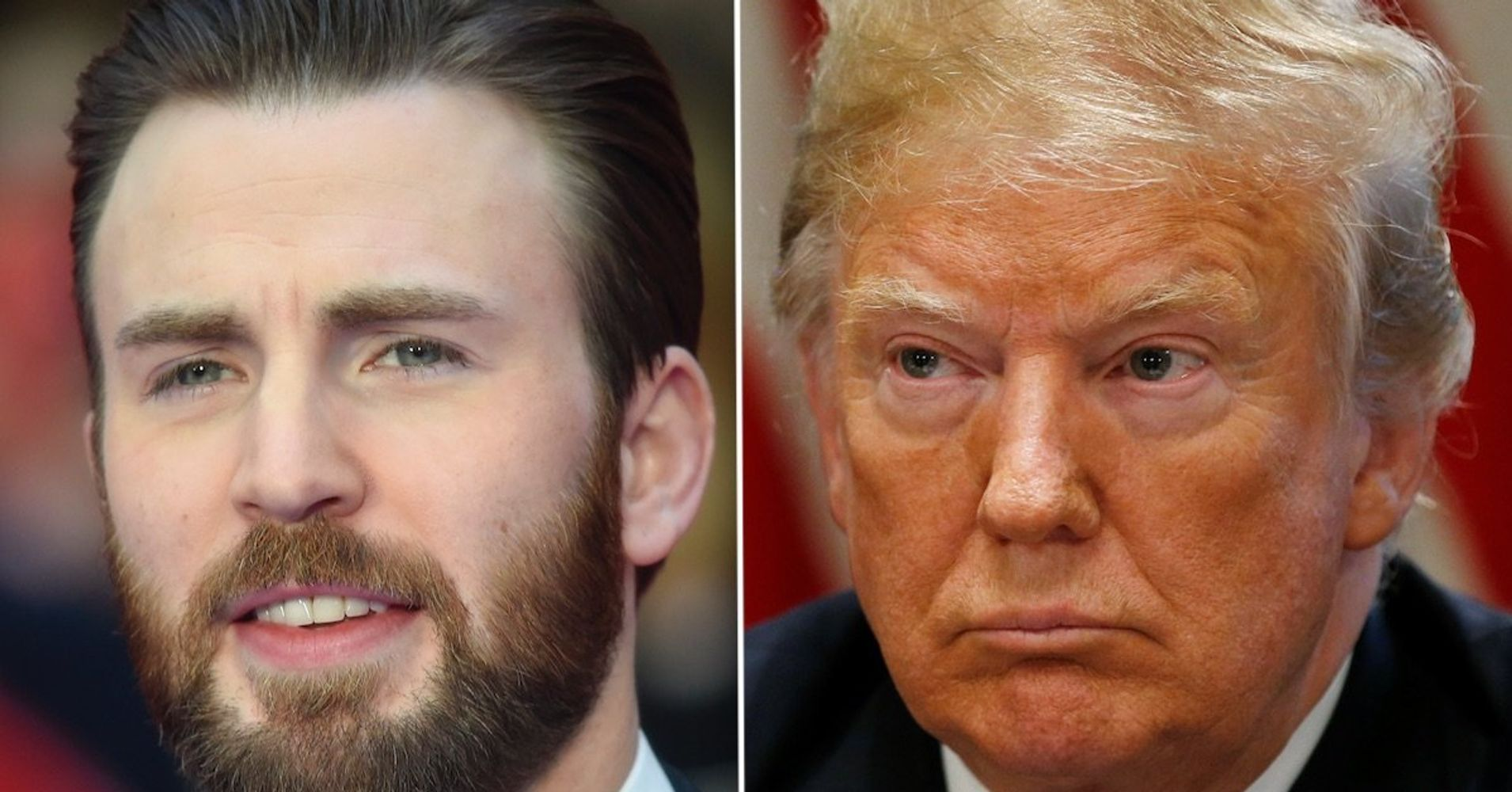 Westlake Legal Group 5b58283019000014035004e8 Chris Evans Exposes 'Painfully Transparent' Reason For Trump's Racist Attack