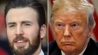 Chris Evans Donald Trump