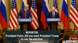 White House Transcript Of Trump-Putin Press Conference Edits Important Question