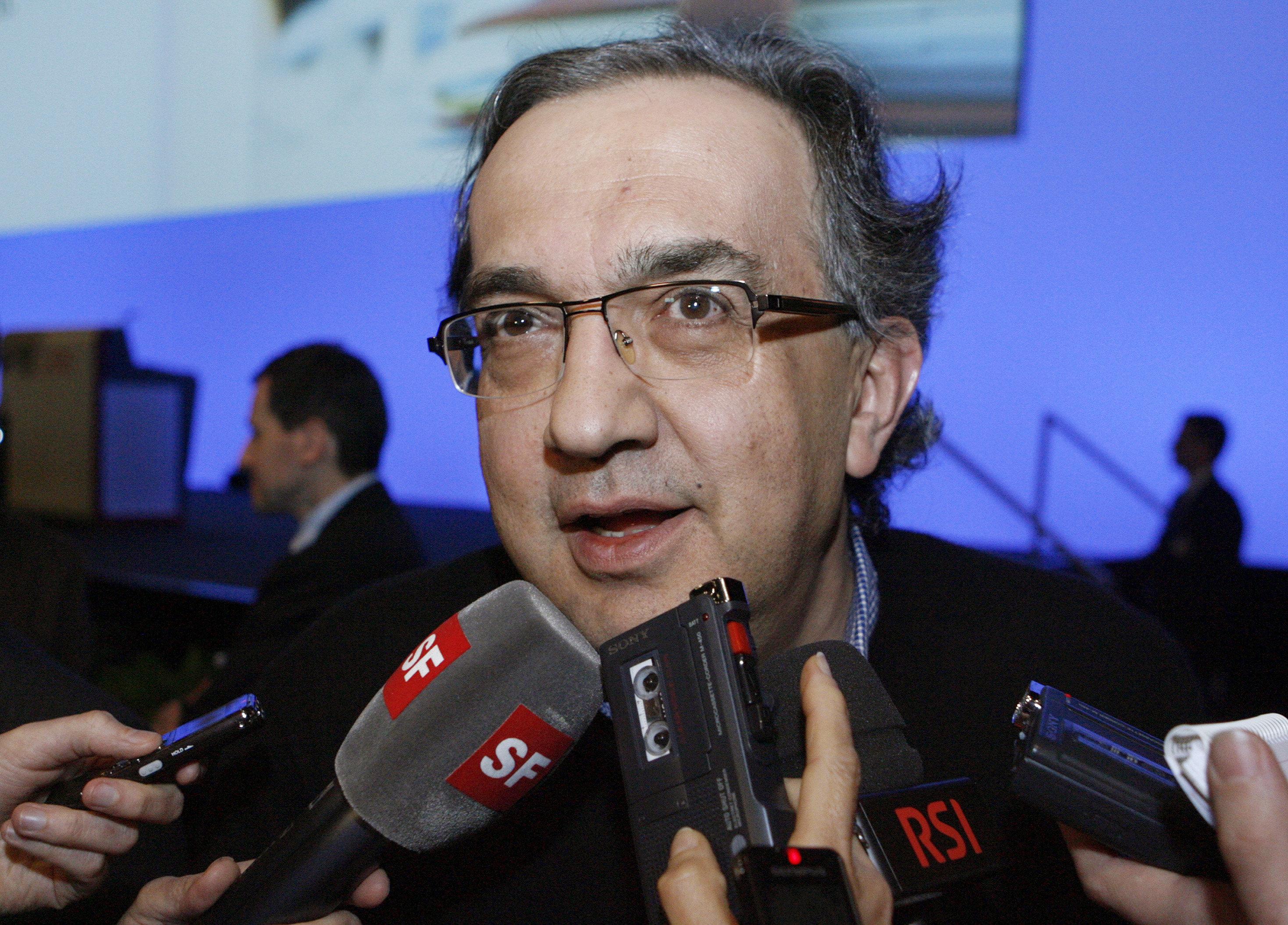 Fiat Chrysler: l'emblématique patron Sergio Marchionne est