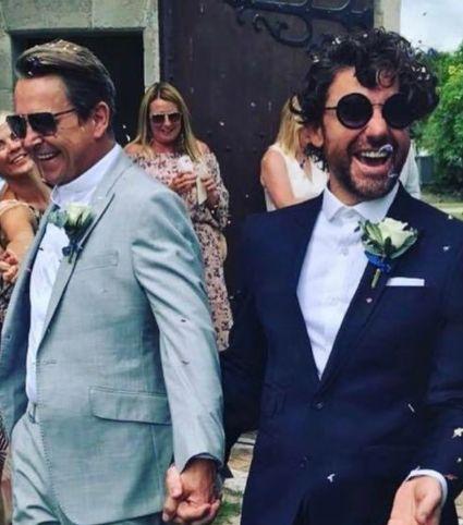 Gogglebox's Stephen Webb and Partner Daniel Lustig Get Hitched In