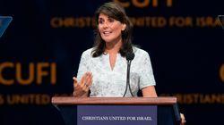 Nikki Haley accuse les pays arabes dont l'Algérie d'hypocrisie envers la