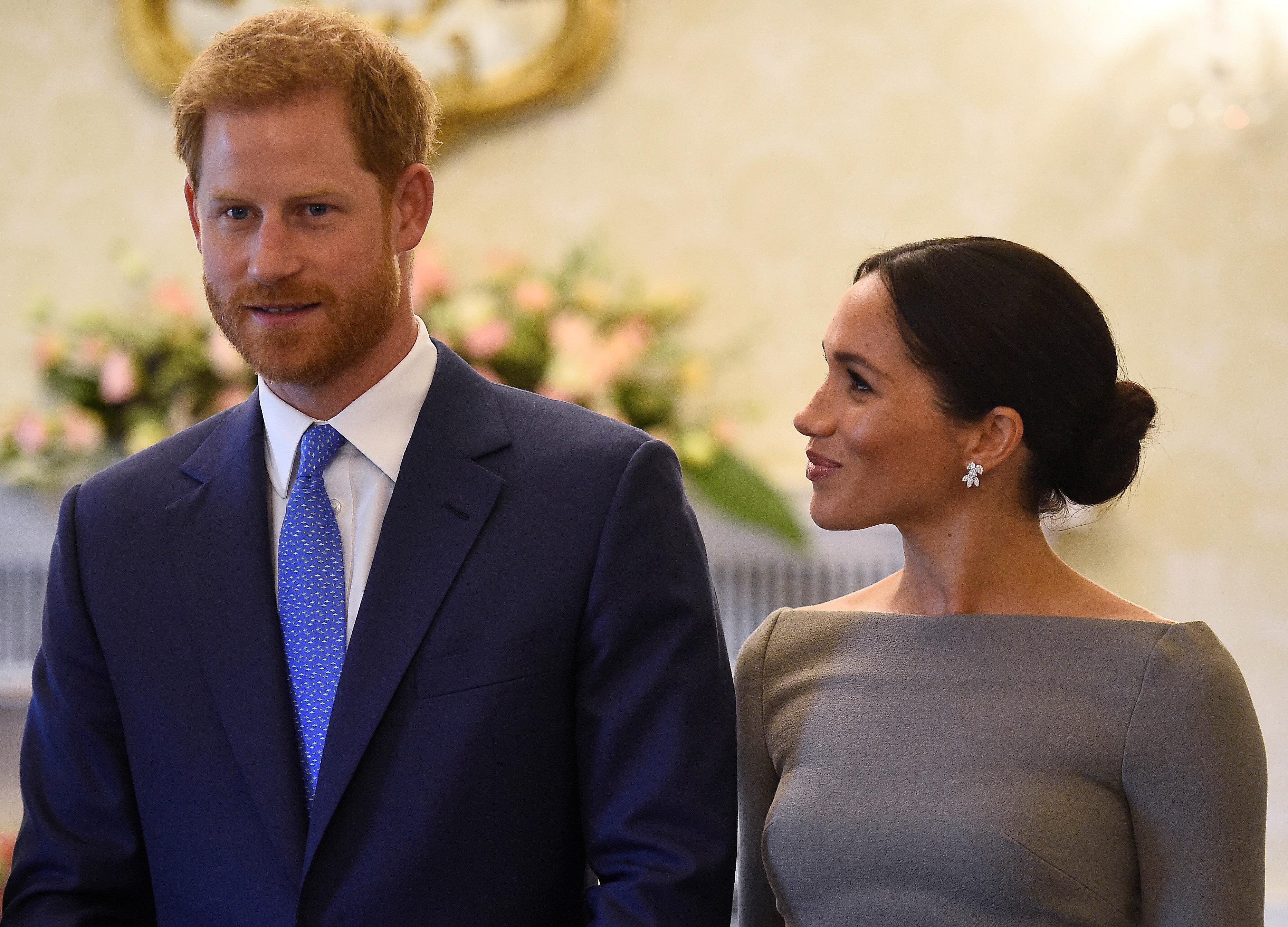 Royal-Experte: So könnte das erste Kind von Meghan und Prinz Harry