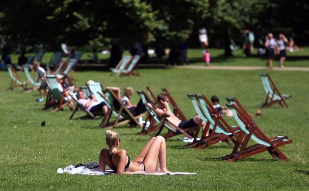 According to the report, heatwavesreaching record highs of 38.5C will hit the UK every other year by the 2040s
