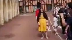 Video zeigt: Das passiert, wenn man sich der Wache der Queen in den Weg