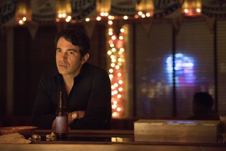 Taking a break from his investigation, Chris Messina's Det. Richard Willis drinks alone in a sleepy Missouri town's lone pub.