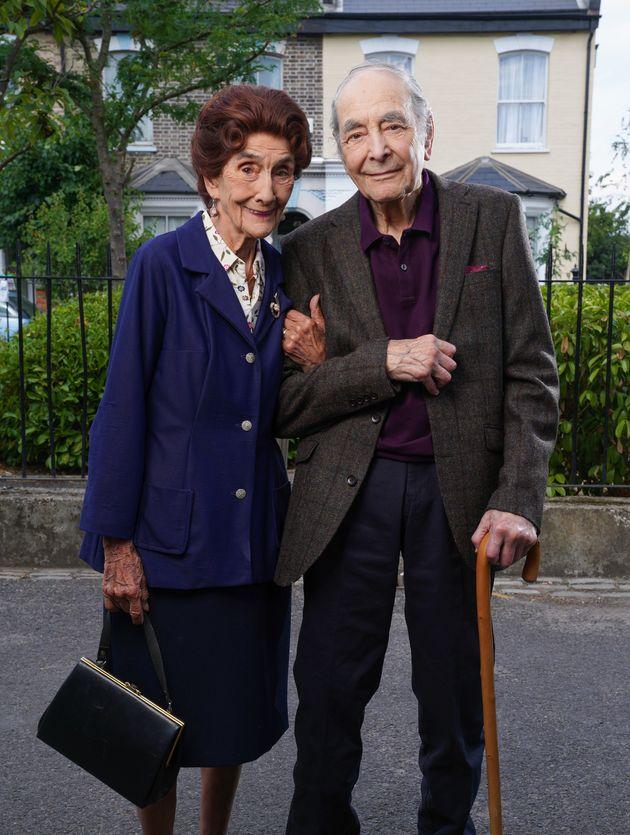June Brown andLeonard