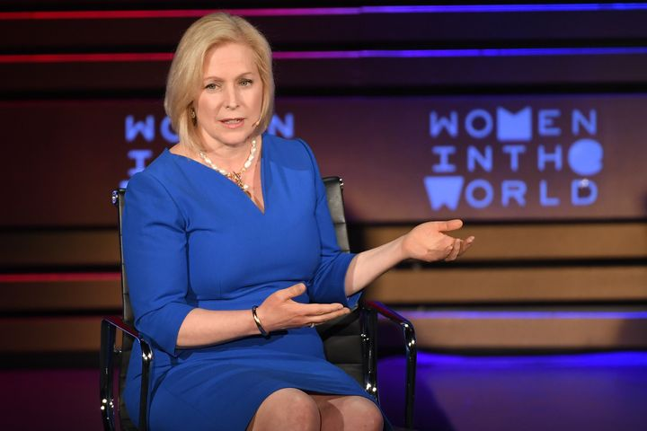 Sen. Kirsten Gillibrand (D-N.Y.) was the first senator to publicly call on her colleague, Al Franken, to resign after numerous allegations of sexual misconduct.
