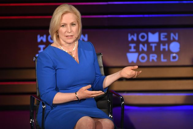 Sen. Kirsten Gillibrand (D-N.Y.) was the first senator to publicly call on her colleague, Al Franken,...