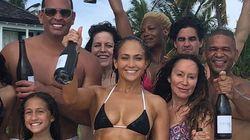 Jennifer Lopez fête ses 49 ans en famille et à grand renfort de