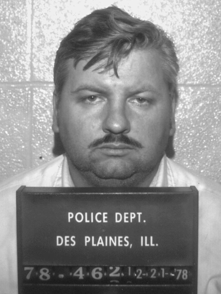 John Wayne Gacy's arrest photo from Dec. 21, 1978.