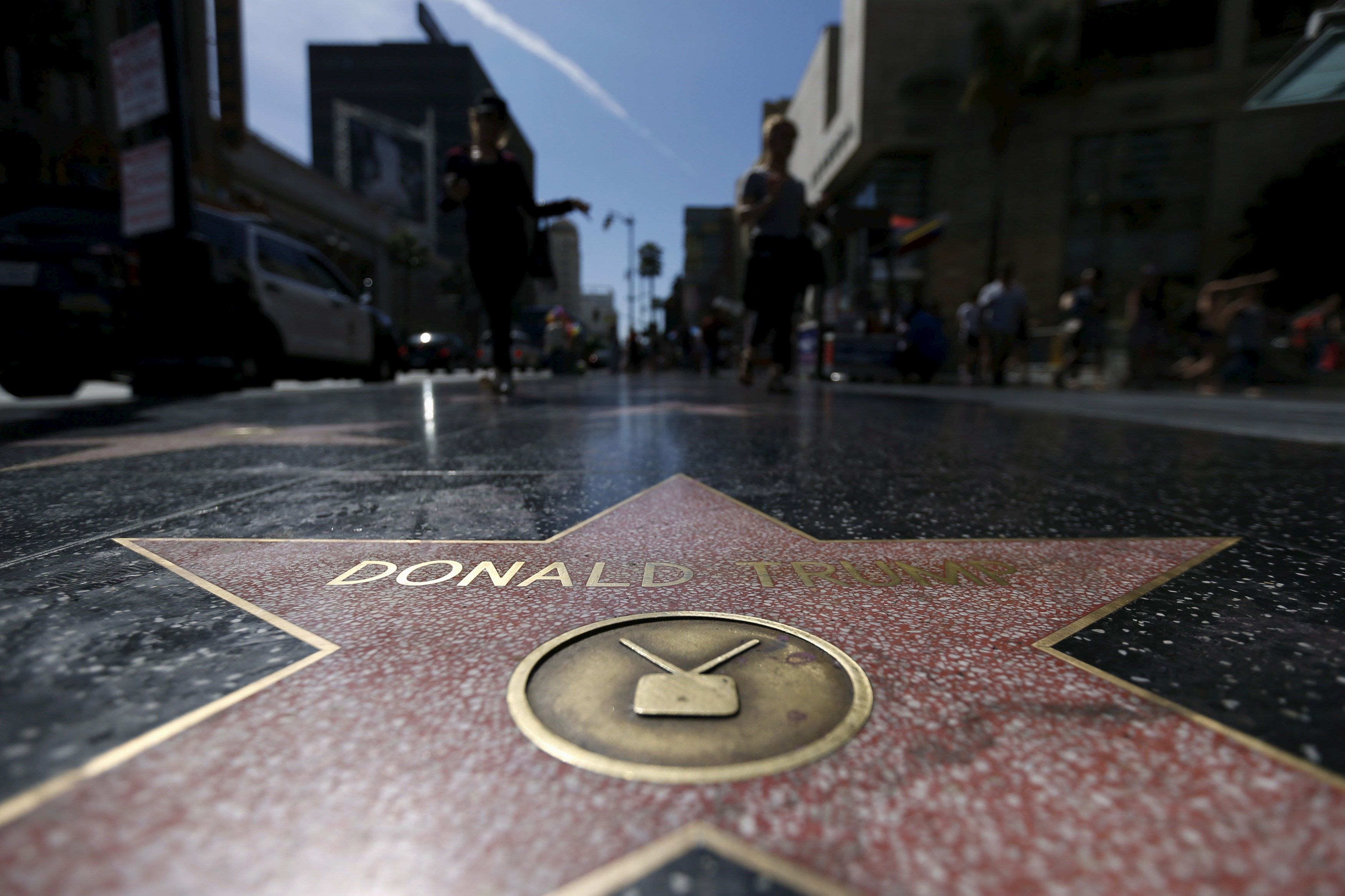 Someone Just Destroyed Donald Trump's Walk Of Fame Star With A