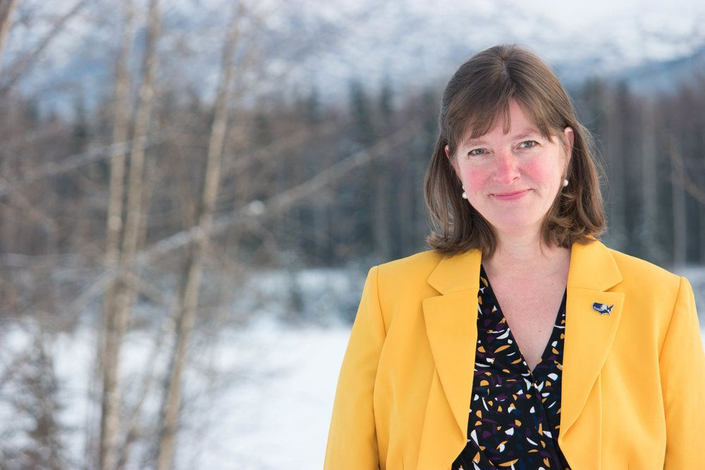 Alyse Galvin, an independent and first-time candidate, is taking on 44-year Rep. Don Young (R-Alaska).