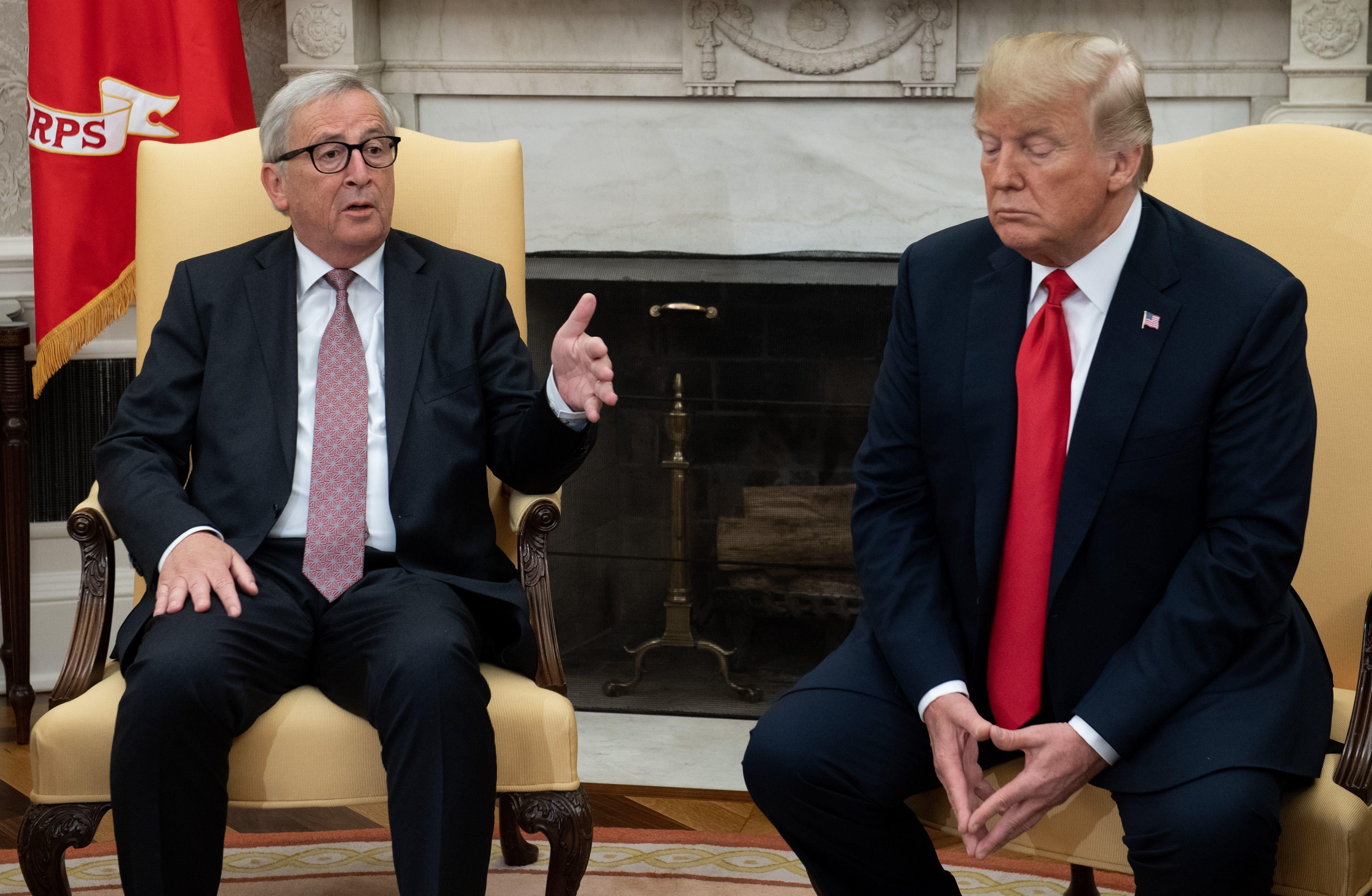 Συμφωνία Γιούνκερ - Τραμπ για δασμούς και