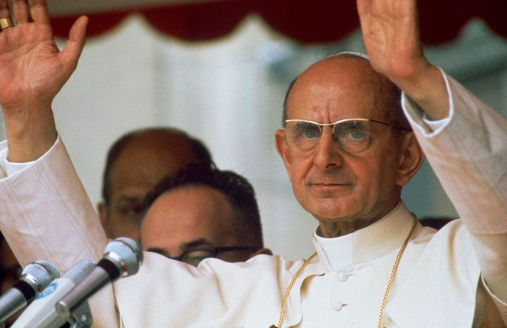"Pope Paul VI <a href=""http://w2.vatican.va/content/paul-vi/en/encyclicals/documents/hf_p-vi_enc_25071968_humanae-vitae.html"""