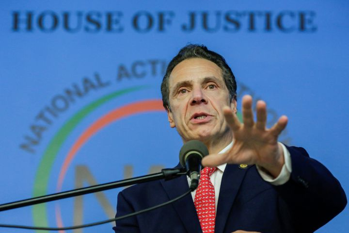 New York Gov. Andrew Cuomo (D) is facing criticism for his handling of perfluorinated chemical contaminations in water suppli