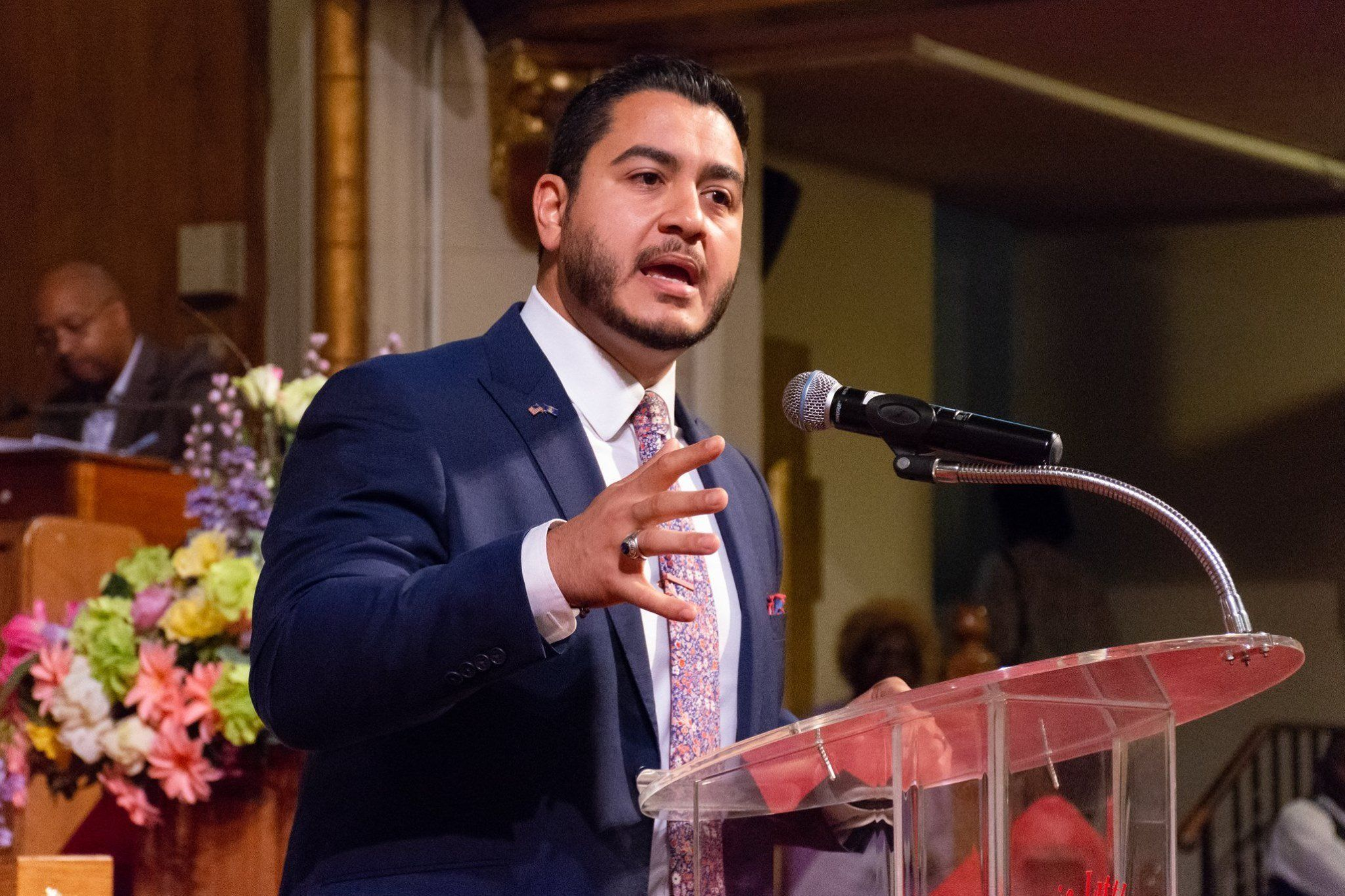 Democrat Abdul El-Sayed the former Detroit health commissioner is running a progressive bid for governor of Michigan