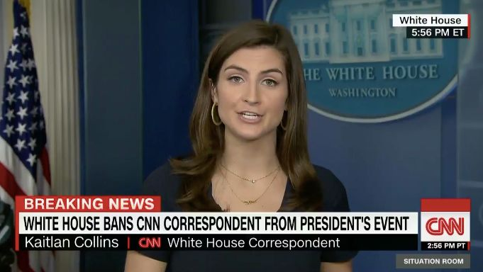 White House bans CNN correspondent; even FOX News comes to her defense