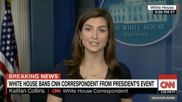 White House Bans CNN Reporter Who Asked Trump About Cohen And