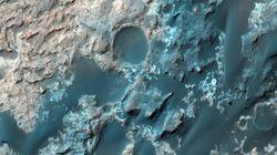 화성 지표면 아래에서 거대한 호수가