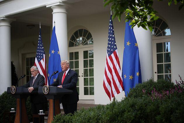 미국과 유럽연합 간 무역전쟁이 사그라들 조짐이