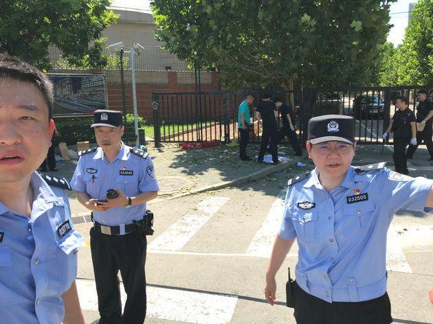 중국 미 대사관 폭발사고 용의자가