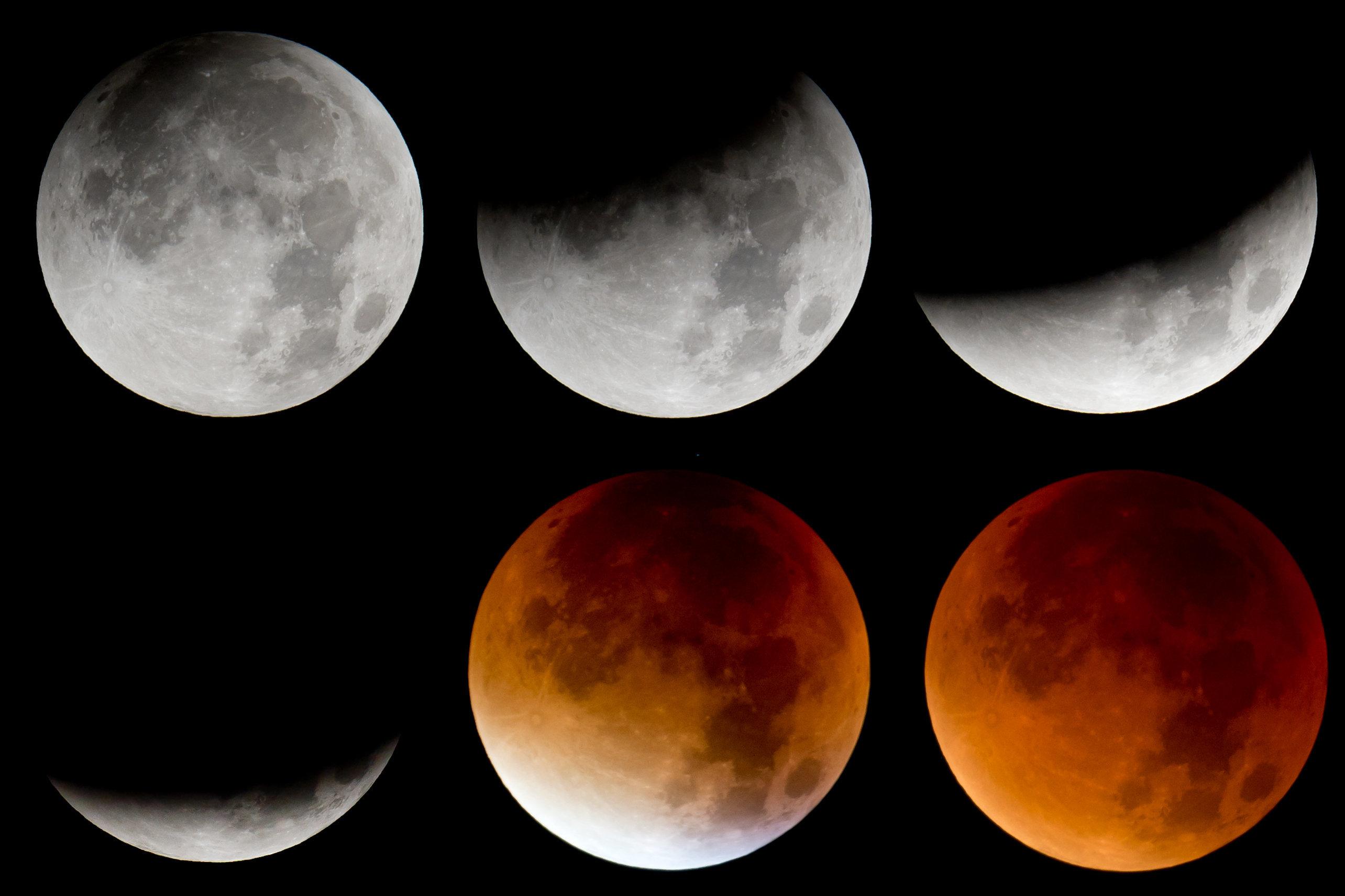 Mondfinsternis: An diesen Orten bietet das Wetter eine klare