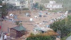 Πλημμύρες στα βόρεια προάστια. Διακοπή κυκλοφορίας και εγκλωβισμένοι οδηγοί σε δρόμους σε Κηφισιά και