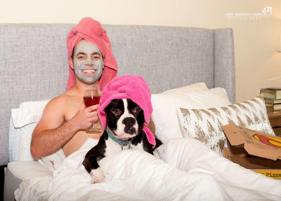 Dad bod: Derrick&nbsp; &nbsp;<br>Dog: Tux from The Love Pit