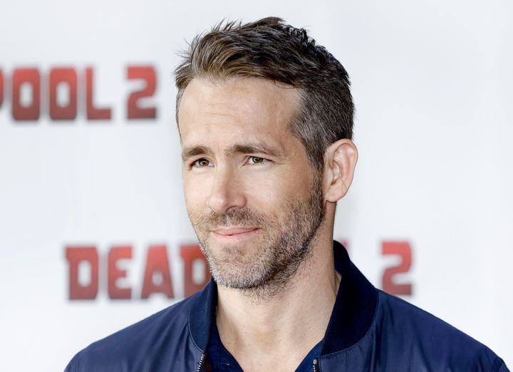 Ryan Reynolds attends the press conference for 'Deadpool 2' in 2018.