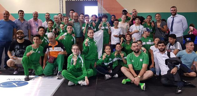 JAJ d'Alger-2018: l'Algérie deuxième au tableau à l'issue de la 8e