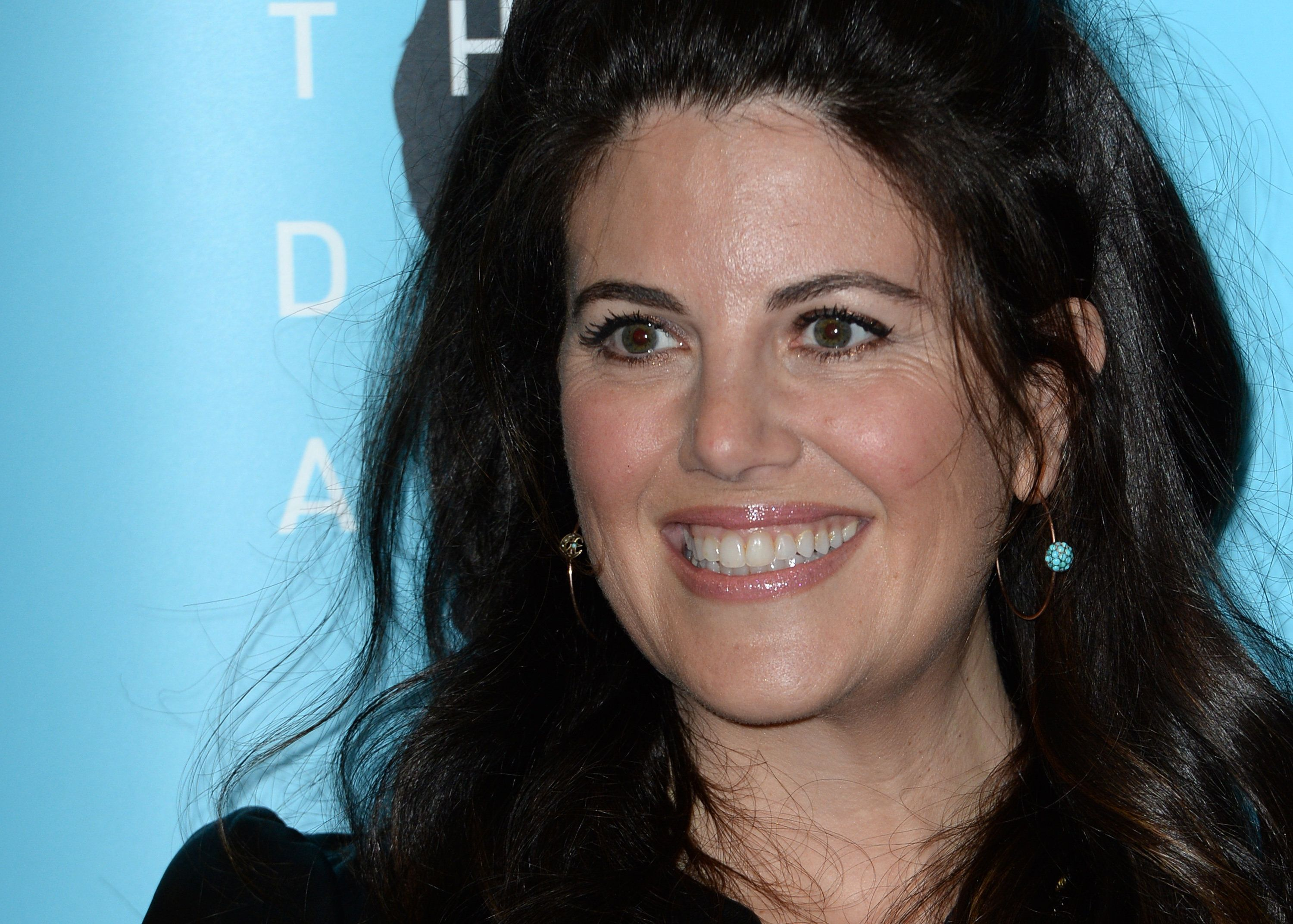LONDON, ENGLAND - NOVEMBER 13:  Monica Lewinsky during an anti-bullying campagin photocall at Alexandra Palace on November 13, 2017 in London, England.  (Photo by Eamonn M. McCormack/Getty Images)