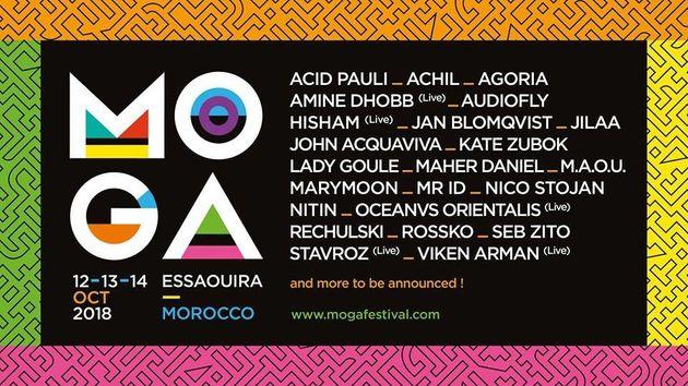 Le festival de musique électronique Moga annonce son retour à