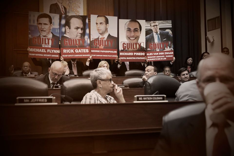 At a hearing earlier this month, Rep. Elijah Cummings (D-Md.) had posters printed with images of those...