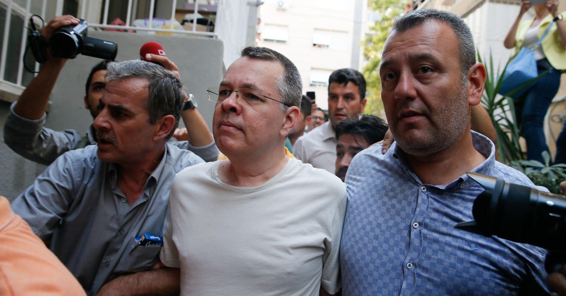 Turkey accuses evangelical pastor Andrew Brunson of having ties to exiled preacher Fethullah Gulens group