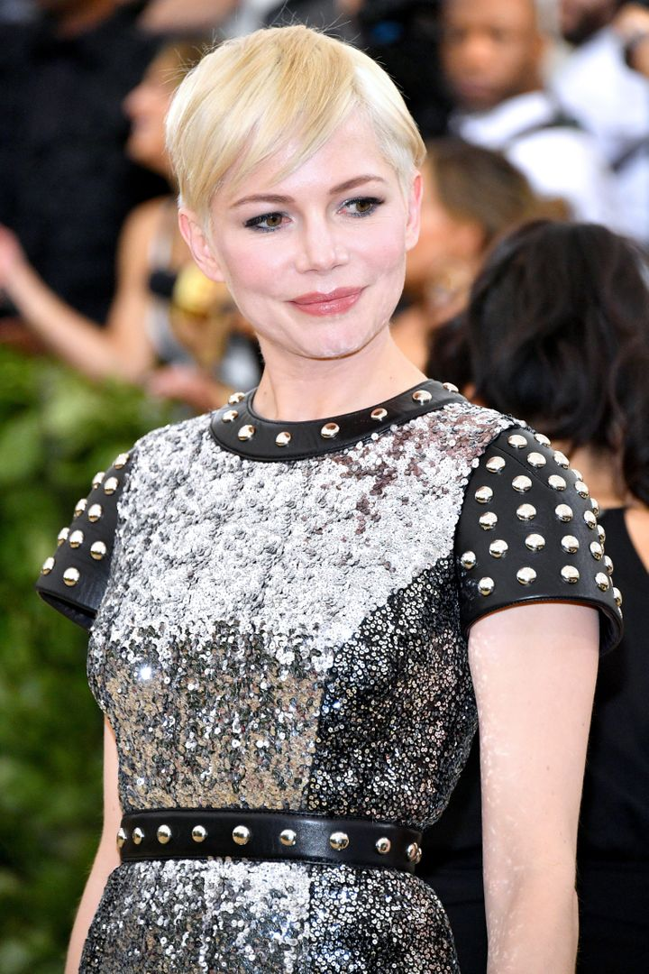 Michelle Williams at the 2018 Met Gala.
