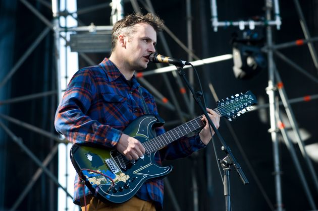 Phil Elverum of Mount Eerie performs on stage in Barcelona, Spain in