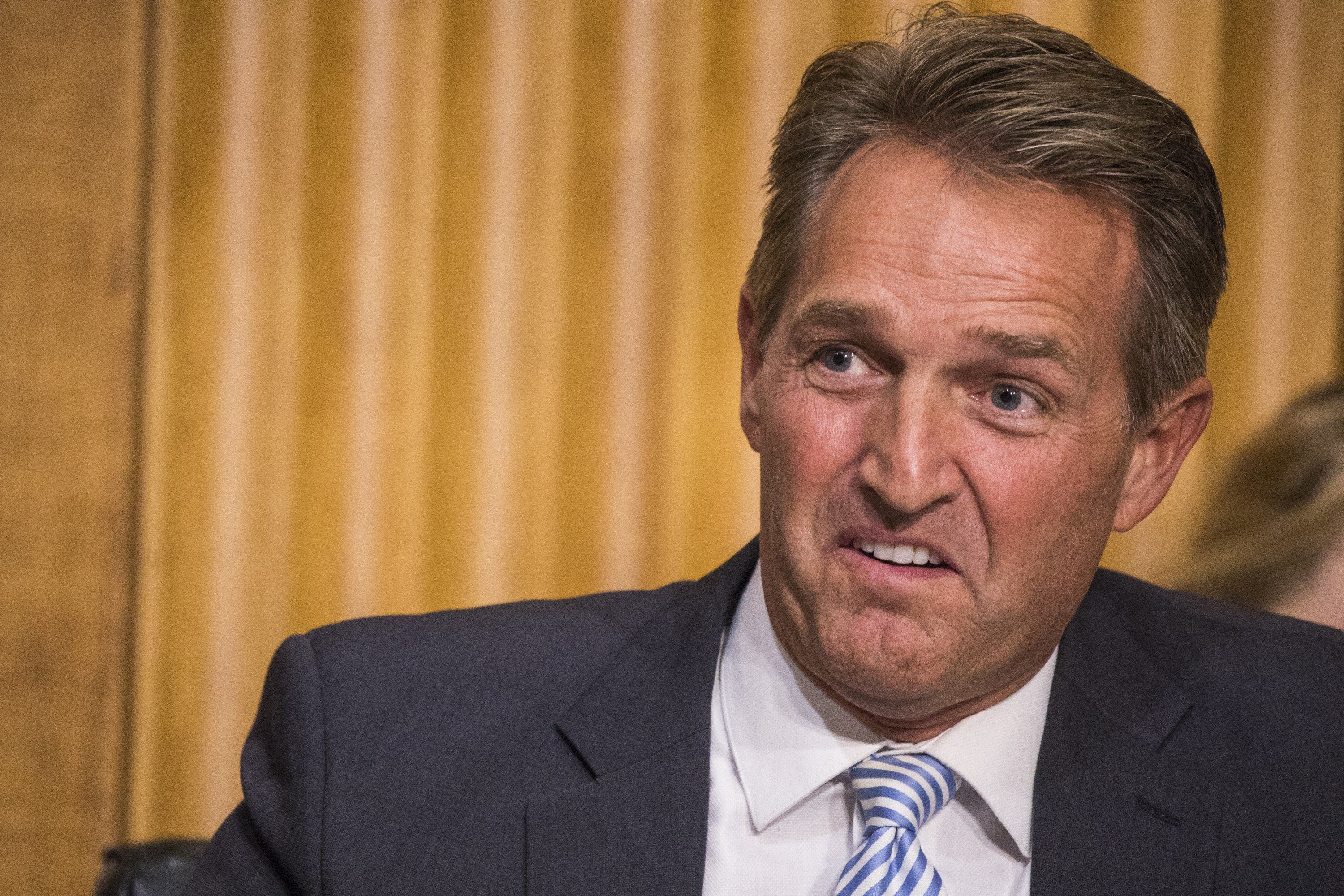 Sen.Jeff Flake (R-Ariz.) would like to end federal spending on researchinto using crickets, mealworms and other i