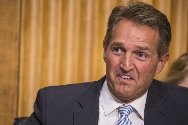 Sen. Jeff Flake (R-Ariz.) would like to end federal spending on research into using crickets, mealworms and other i
